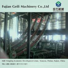 Machine de coulée continue pour le moulage d'acier