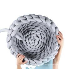Popular hot selling Hand-woven pet nest super quality cat nest pure color cat dog cotton bed nest