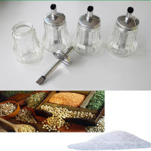 Transparent Spice Bottle with Stainless Steel Spout