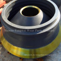 Gussteile aus hochmanganhaltigem Stahl Kegelbrecher-Teile