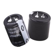 Topmay Sanp-no passo eletrolítico de alumínio terminal 10mm do capacitor 105c Tmce18