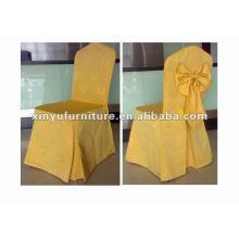 Cubierta popular de la silla del amarillo del diseño XC973