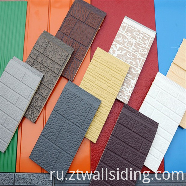 Embossed Metal Sandwich Panels