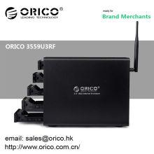 ORICO Wi-Fi-NAS 3559U3RF 5 baías 3.5 '' Gabinete externo RAID
