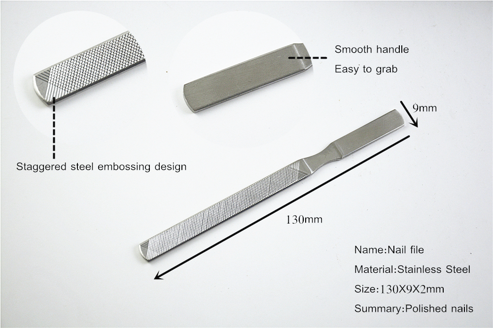 Curved Metal Nail File