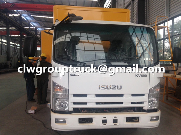 Power Supply Truck ISUZU Brand