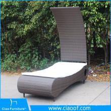 Le meilleur Lit bon marché bon marché de patio de conception de bonne qualité, lit de bronzage inclinable de patio