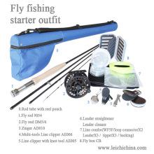 Combinaison de démarrage en gros de pêche à la mouche
