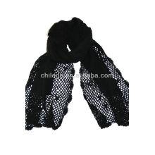 dentelle crochet crochet écharpe en cachemire