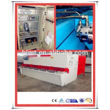 QC12Y 6x3200 folha de metal hidráulica máquina de cisalhamento automática