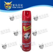 Insecticida en aerosol a base de aceite
