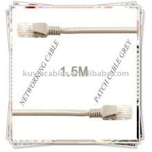 1,5 м RJ45 Ethernet сетевой патч-кабель для передачи данных