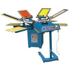 SPM manual rotary manual screen printer(SERIGRAPHY)