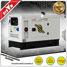 BISON China Zhejiang 10KW Electric Start 100% Kupfer 10KVA Sound Proof Generatoren