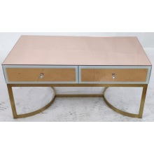 Rectangular glass coffee table for home