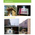 5W led streetlight, intelligent solar light with PIR motion Sensor, outdoor solar led light