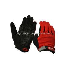 Glove-Racing Glove-guante de seguridad-guante de deporte-guante de protección-guante de silicio