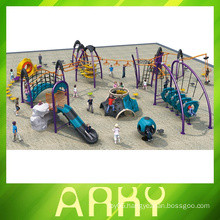 Fitness climbing children's outdoor park play equipment slide playground