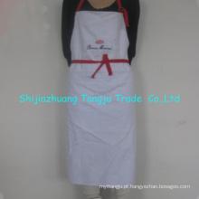 aventais de cozinha promocionais de alta qualidade, conjunto de aventais fácil de lavar