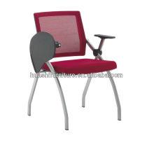 T-083SH-Y chaise pliante en maille avec tablette