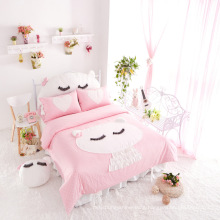 2015 Hot Sale New Princess Pink Bedding Cotton Set