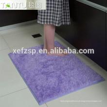 Gang Läufer wasserdichtes Bad lange Haare Teppich Langhaar 100% Polyester Maschine waschbar Eingangsmatte