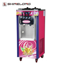 High Quality Soft Serve 3 Flavor Used vending soft ice cream machine