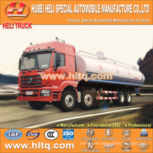 SHACMAN M3000 8x4 30000L stainless steel water tank truck good quality hot sale in China ,manufacture