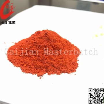 Tube Orange Color Powder