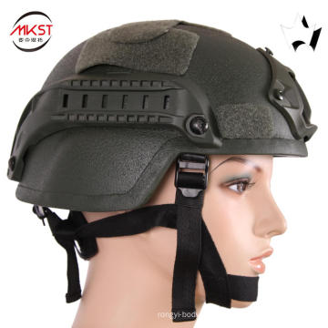 MKST Mich  Ballistic Helmet With Bullet Camera
