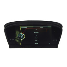 Carro DVD Player para BMW M5 BMW E60 / E61 / E63 / E64 Navegação GPS