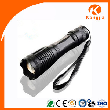 Professional LED Flashliight Manufacturer Waterproof Rechargeable Battery Most Powerful Flashlight