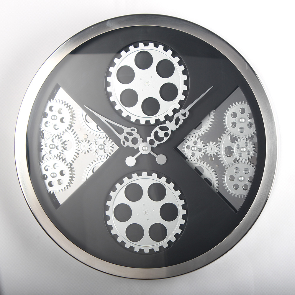 Wall Clocks With Exposed Gears