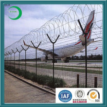 Hot Dipped Galvanized Double Ringed Protection Fencing (xy512)