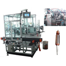 Double Winding Flyer Enrouleur de bobine de rotor automatique pour commutateur de type crochet