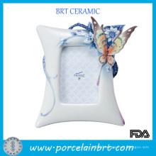 Butterfly Decoration Elegant Wedding Photo Frame