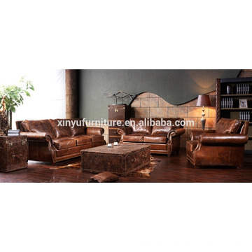 2015 new design french style antique sofa set A645