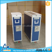 Good quality aluminum alloy inflight service meal trolley