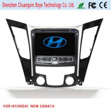 Navegação quente do carro DVD GPS do carro 2 para o sonata novo de Hyundai
