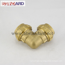 Brass PE Equal Elbow Fitting