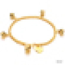 Mesdames Exquise Mode 18k plaqué or Bell Bracelet