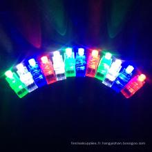 fête enfants led anneau de lumières de doigt pour halloween