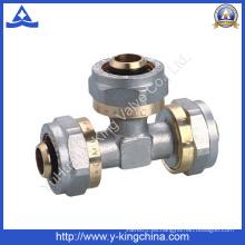 Latón de compresión de montaje para tubería de Pex (YD-6057)