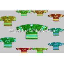 6XL Custom Made bordados reversíveis Sublimation Ice Hockey Jerseys