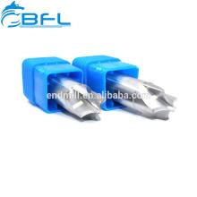 BFL CNC herramienta de corte de carburo de tungsteno molino de extremo achaflanado de 45 grados