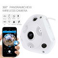 Telecamera IP WiFi panoramica Fish Eye 360