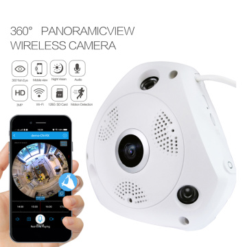 Caméra IP WiFi panoramique 360 ​​Fish Eye