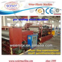 PVC-Baumschichten Wellblech, das Maschine herstellt