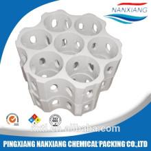 Light-ribbed Bar-crossed ceramic ring&Ceramic Combination Tower Packing rings