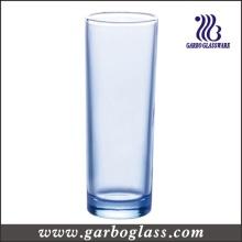 15oz Blue Highball Glass Tumbler